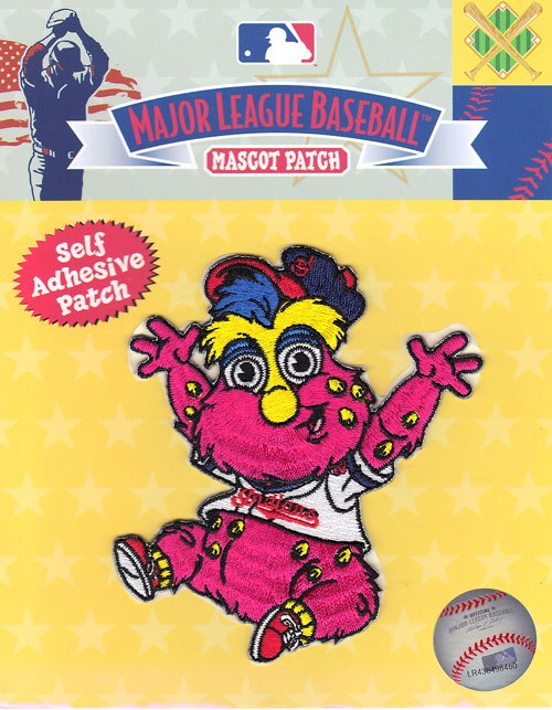 Cleveland Indians Team Baby Mascot Slider Self-Adhesive Patch