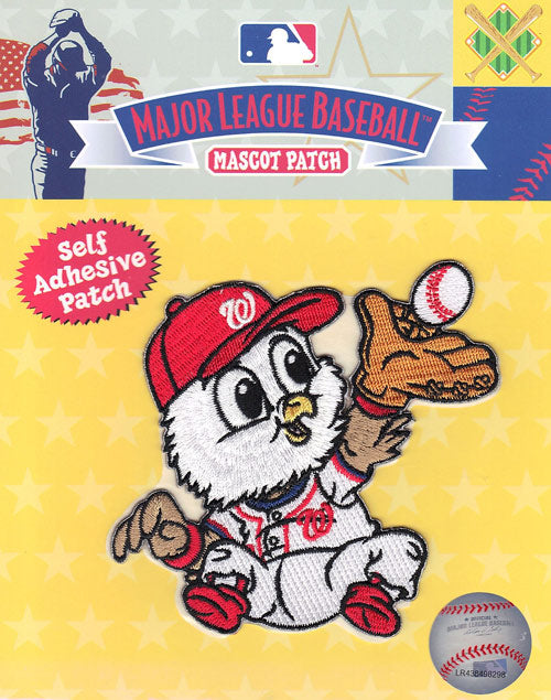 Washington Nationals Team Baby Mascot 'Screech' Self-Adhesive Patch
