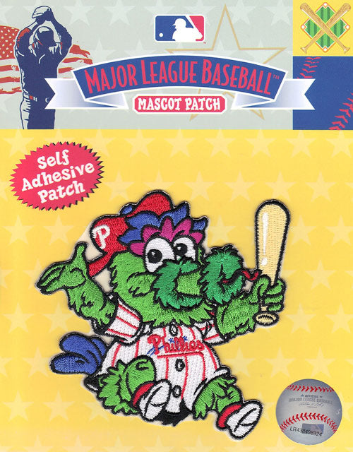 Philadelphia Phillies Team Baby Mascot 'Phillie Phanatic' Self-Adhesive Patch