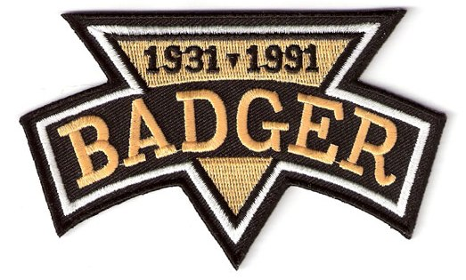 Badger Bob Johnson Pittsburgh Penguins Memorial Patch