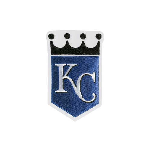 Kansas City Royals Alternate Sleeve Patch (Black Crown)