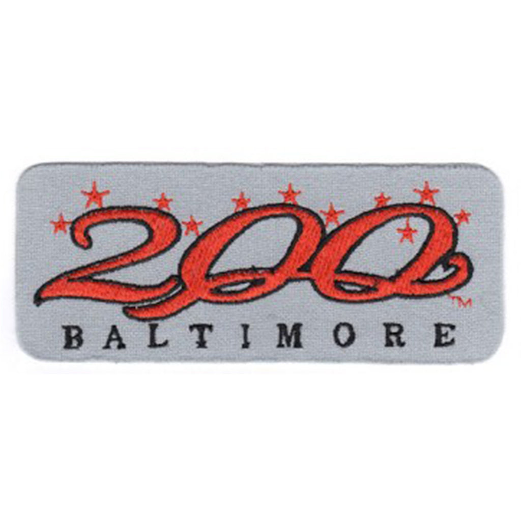 1997 Baltimore Orioles 200th Anniversary of City Patch (Gray Version)
