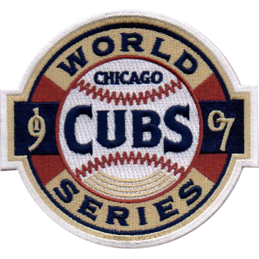 1907 Chicago Cubs MLB World Series Championship Jersey Patch