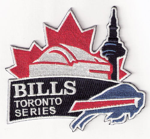 Buffalo Bills Toronto Series Patch