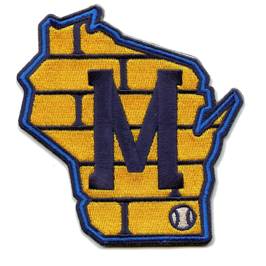 2020 Milwaukee Brewers Road Sleeve Patch