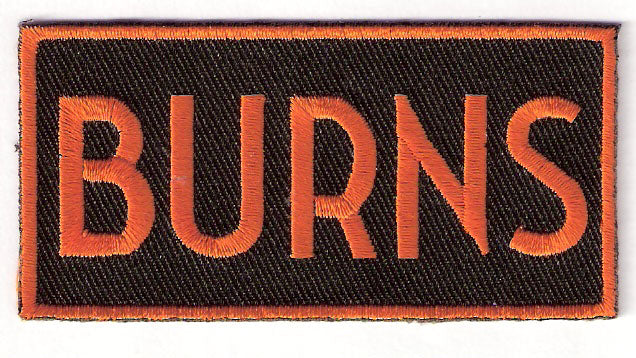 Sue Burns San Francisco Giants Memorial Patch