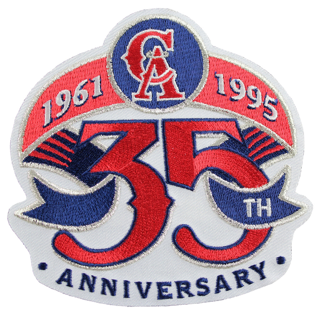 1995 California Angels 35th Anniversary Patch