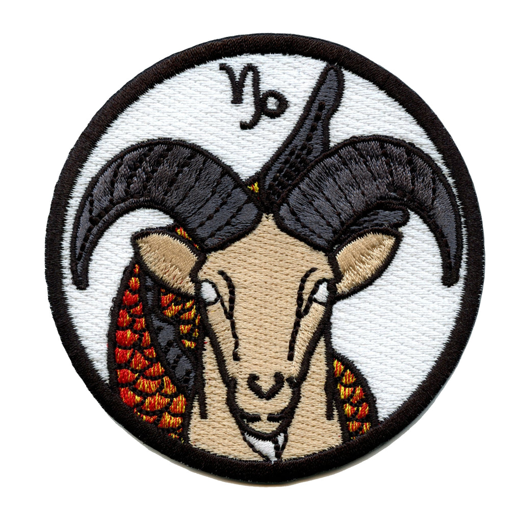 Capricorn Zodiac Sign Iron On Patch