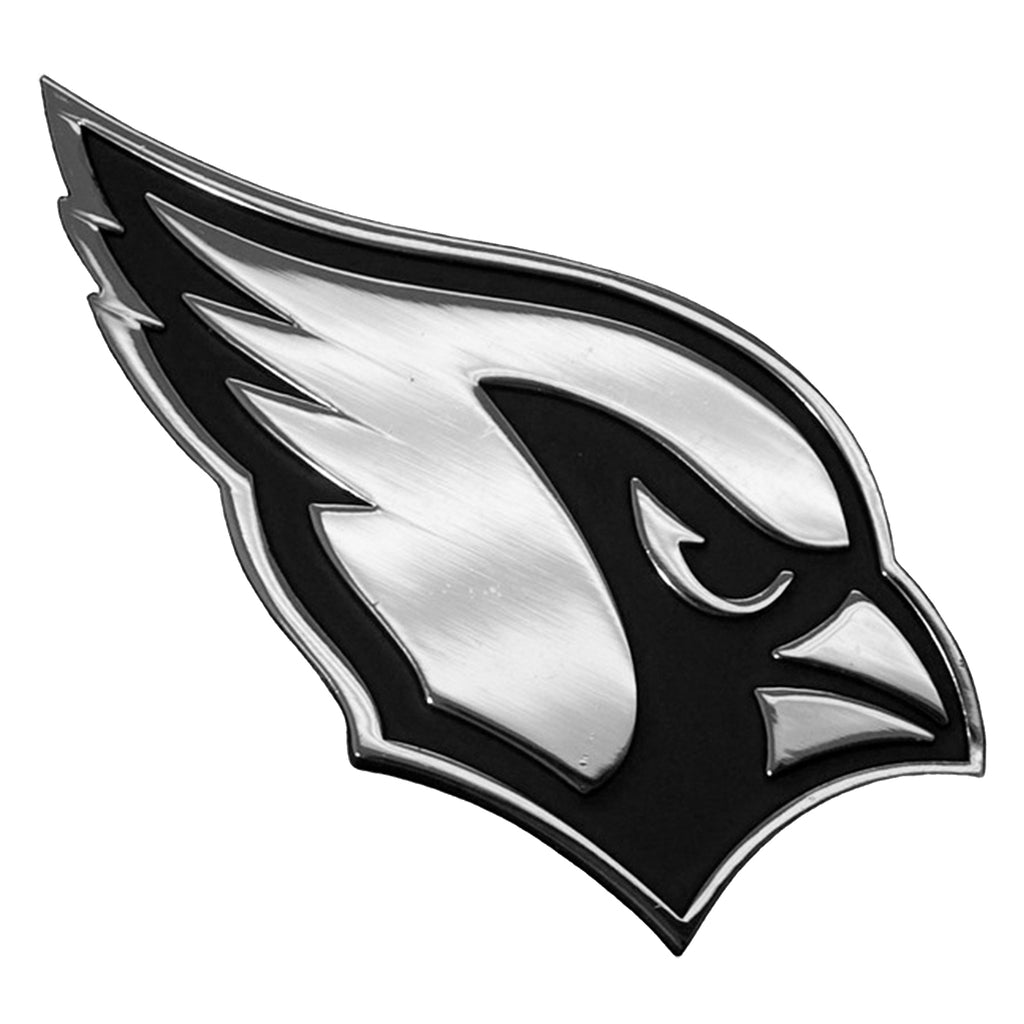 Arizona Cardinals Premium Solid Metal Chrome Plated Car Auto Emblem