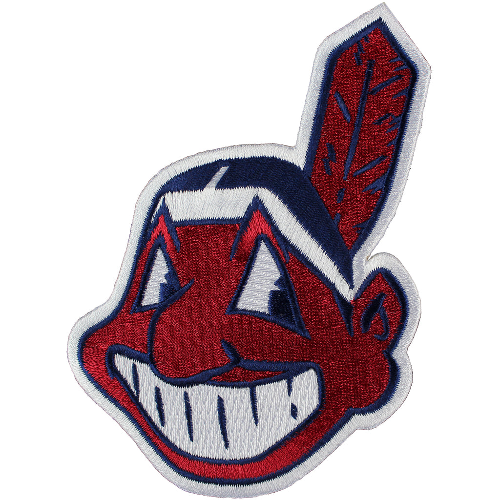 Cleveland Indians Chief Wahoo Jersey Sleeve Patch