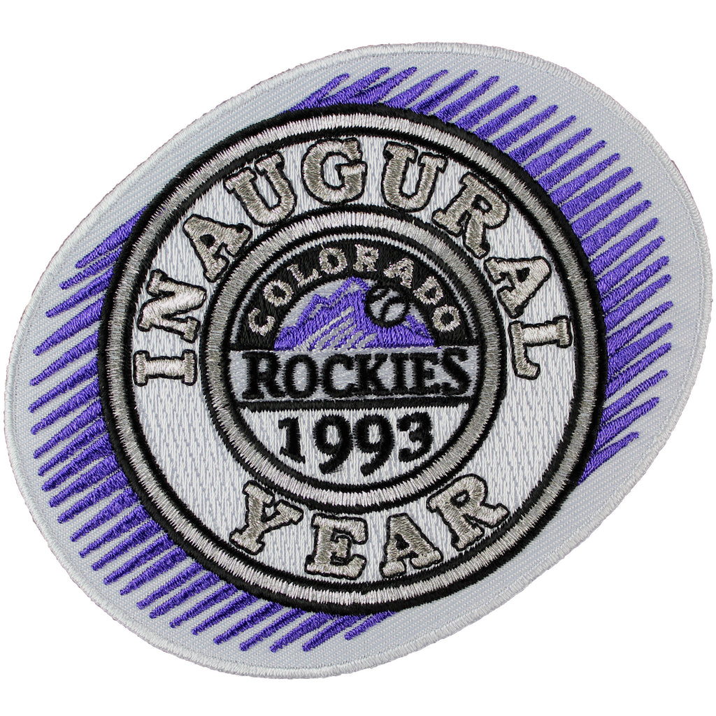 1993 Colorado Rockies 'Inaugural Year' Season Patch