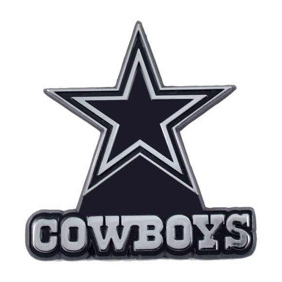 Dallas Cowboys Solid Metal Auto Emblem