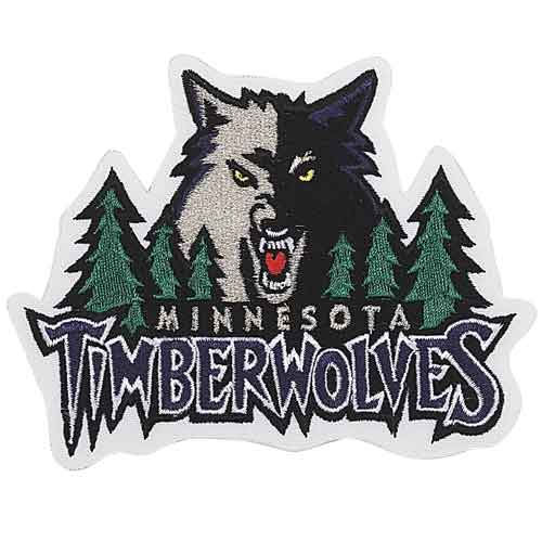 Minnesota Timberwolves Primary Team Logo Patch