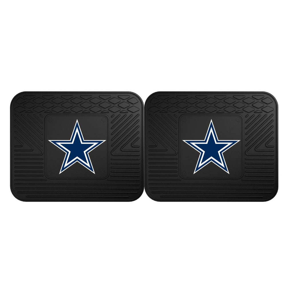 Dallas Cowboys Heavy Duty Vinyl Utility Mat 2-Pack