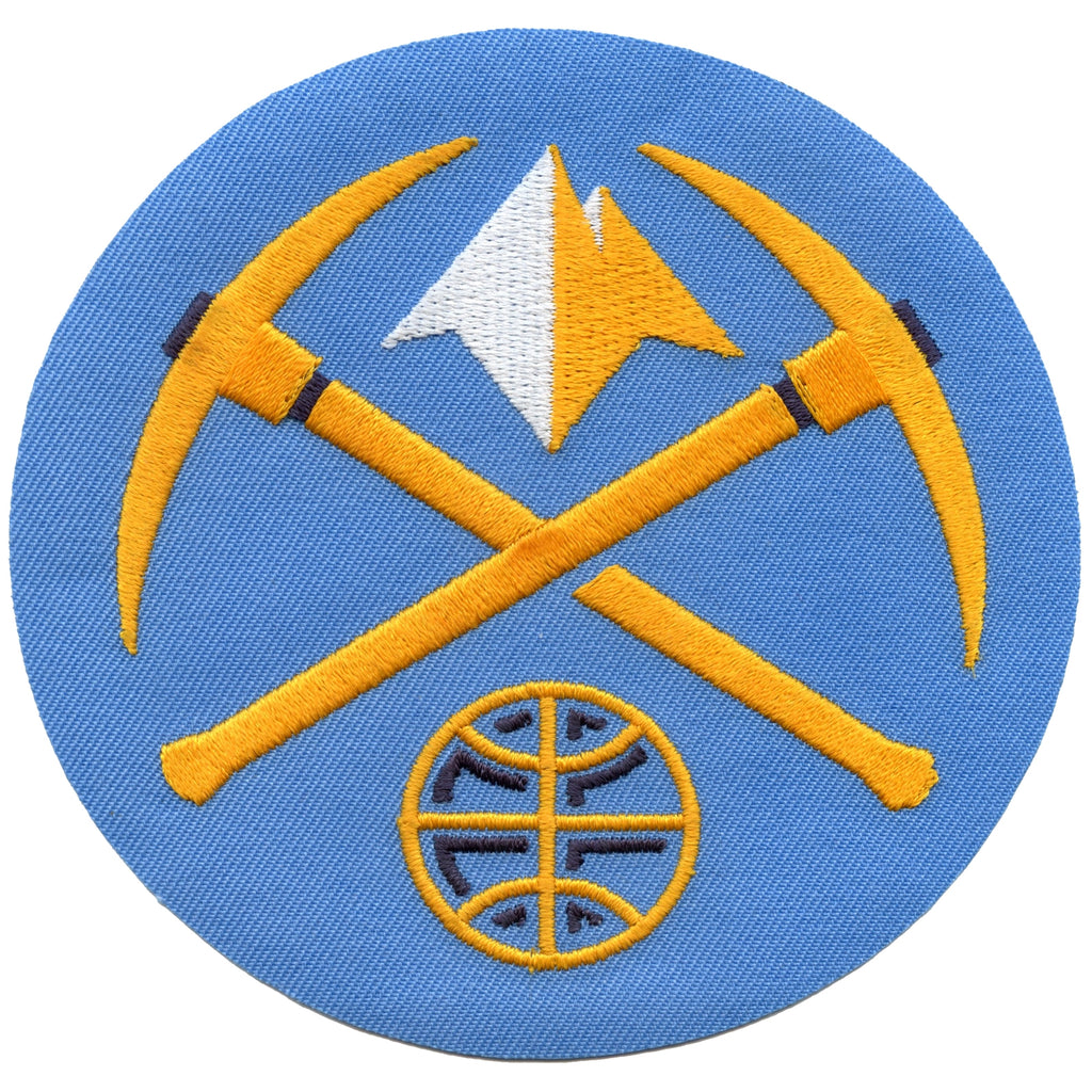 2005 Denver Nuggets Alternate Logo Round Patch