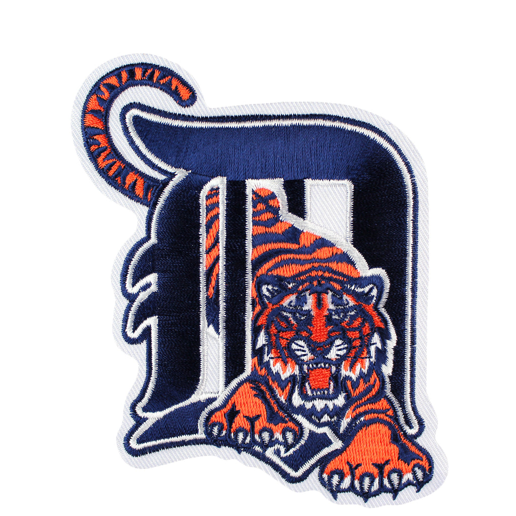 Detroit Tigers Old English D with Tiger Patch (2006-2015)