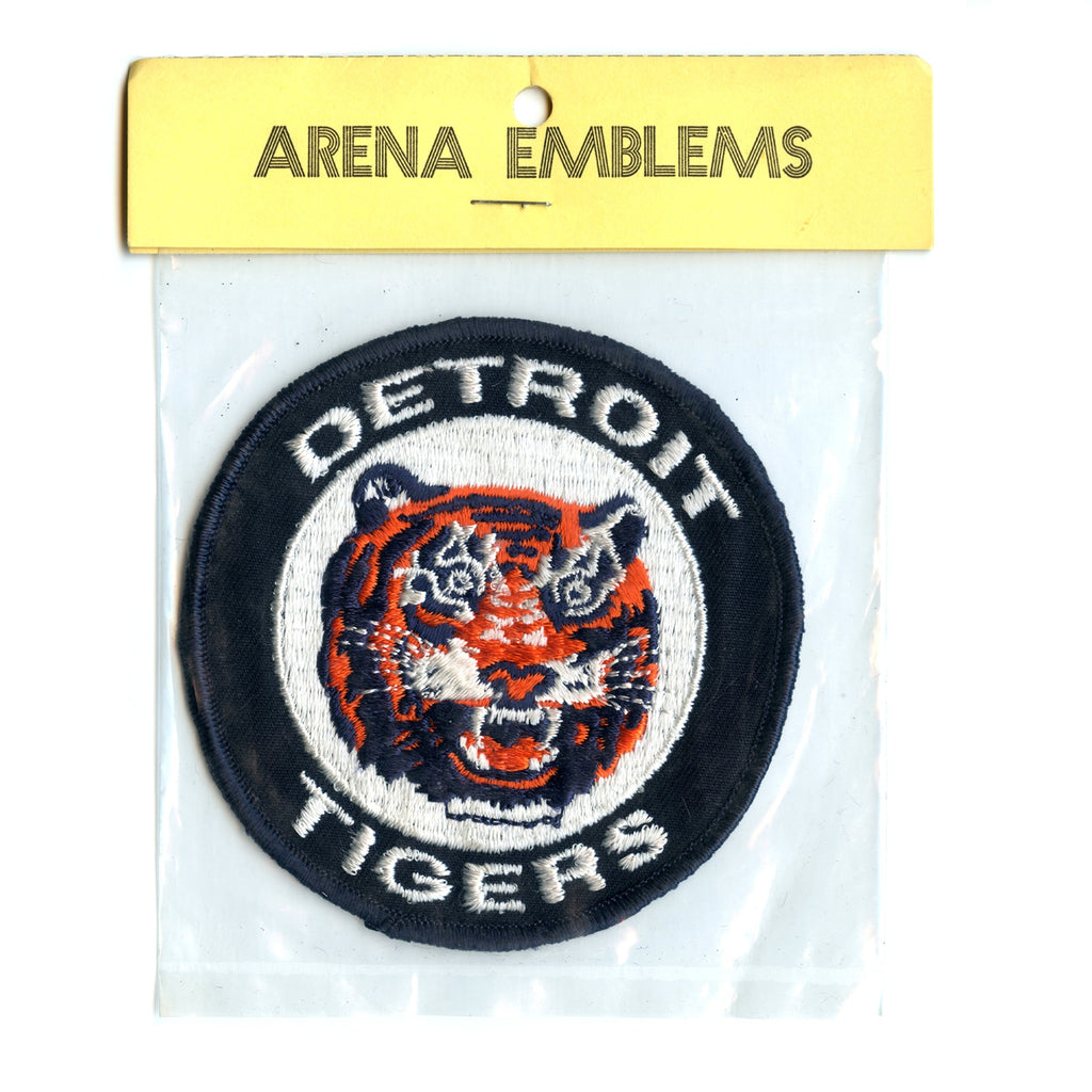 Rare Detroit Tigers MLB Baseball Vintage Round Team Logo Patch