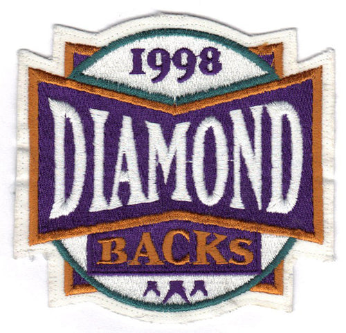 1998 Arizona Diamondbacks Inaugural Season Logo Patch