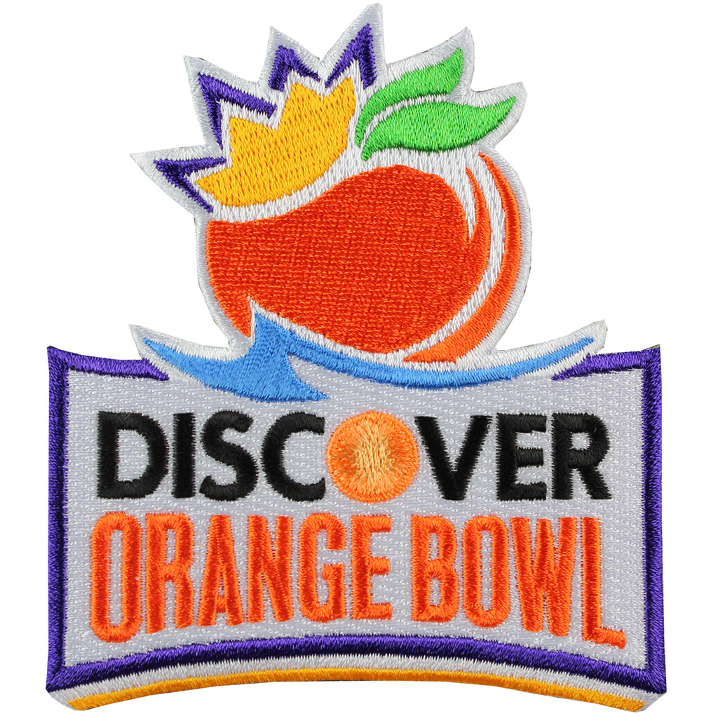 Discover Orange Bowl Game Jersey Patch (2014 Clemson vs. Ohio State)