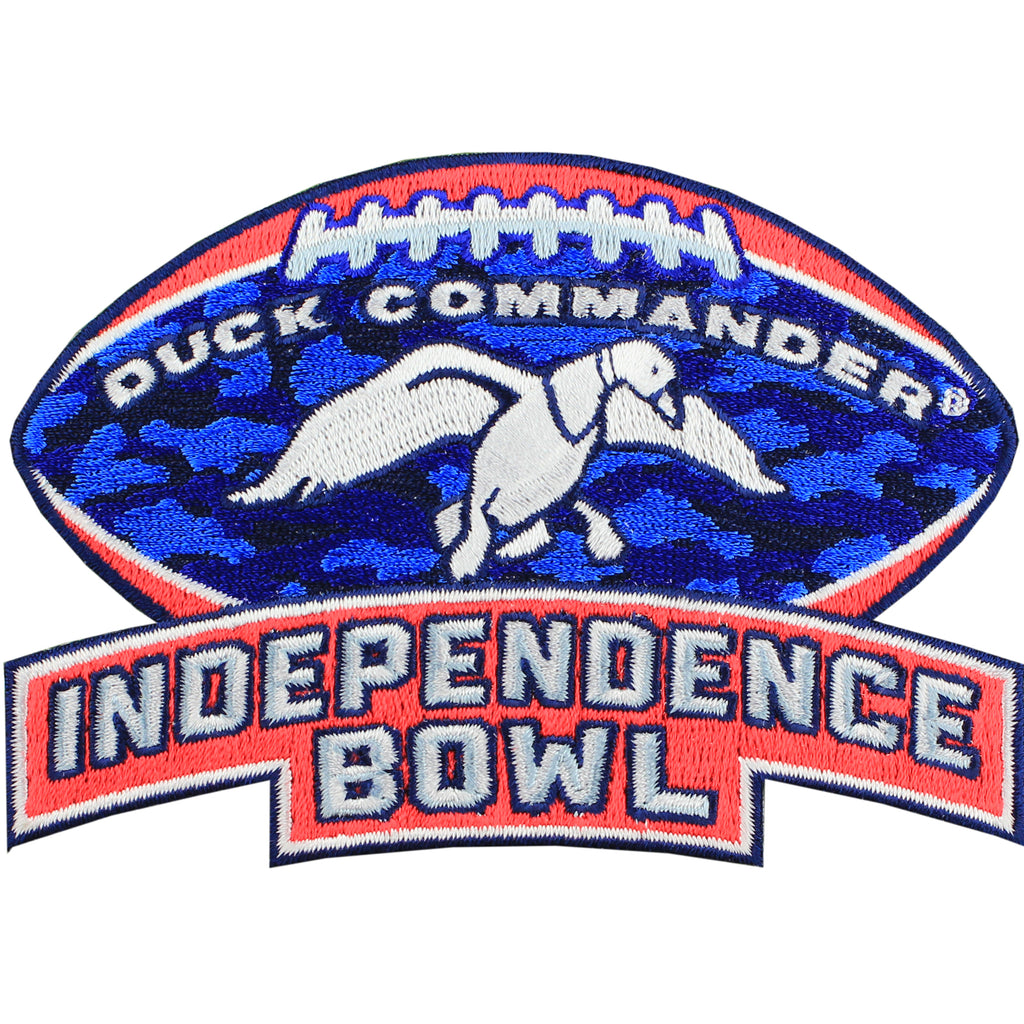 Duck Commander Independence Bowl Game Jersey Patch Miami vs South Carolina (2014)
