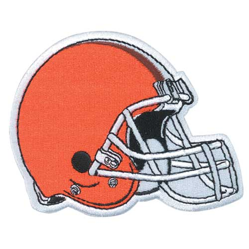Cleveland Browns Primary Team Helmet Logo Patch