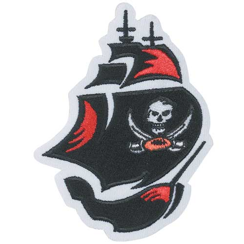 Tampa Bay Buccaneers Boat Team Logo NFL Patch