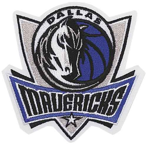 Dallas Mavericks Primary Logo Patch