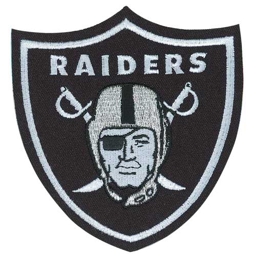 Oakland Raiders Primary Team Logo Jersey Patch