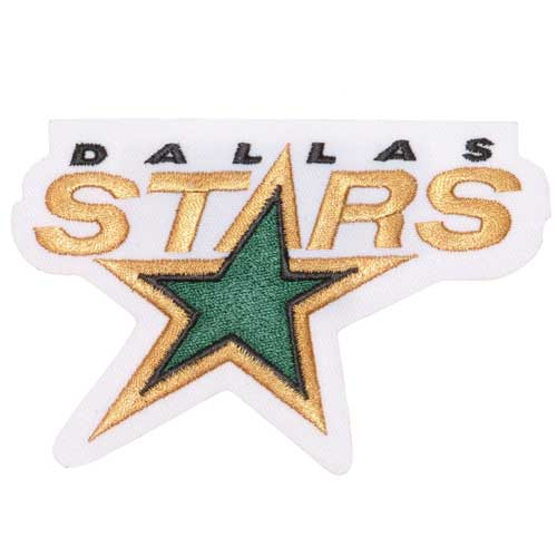 Dallas Stars Primary Team Logo Patch (1993-2013)