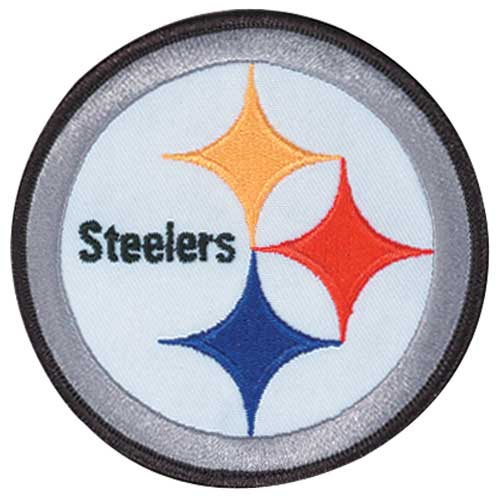 Pittsburg Steelers Patch Black Border