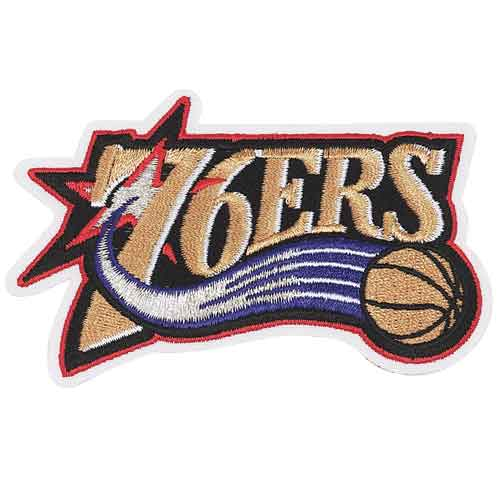 Philadelphia 76ers Primary Team Logo Patch (1997 - 2009)