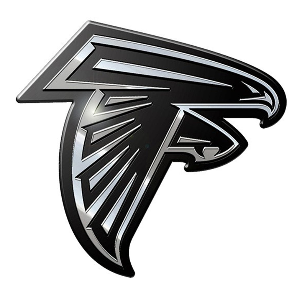 Atlanta Falcons Premium Solid Metal Chrome Plated Car Auto Emblem