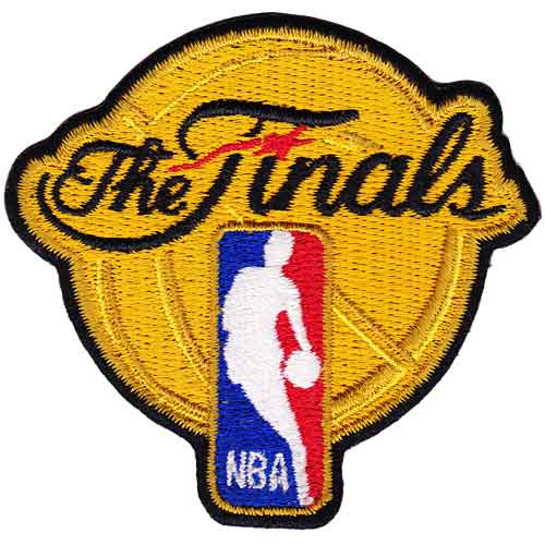 2012 NBA 'The Finals' Championship Patch Oklahoma City Thunders Miami Heat