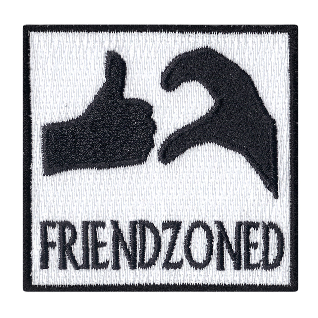 Friendzoned Meme Iron On Patch