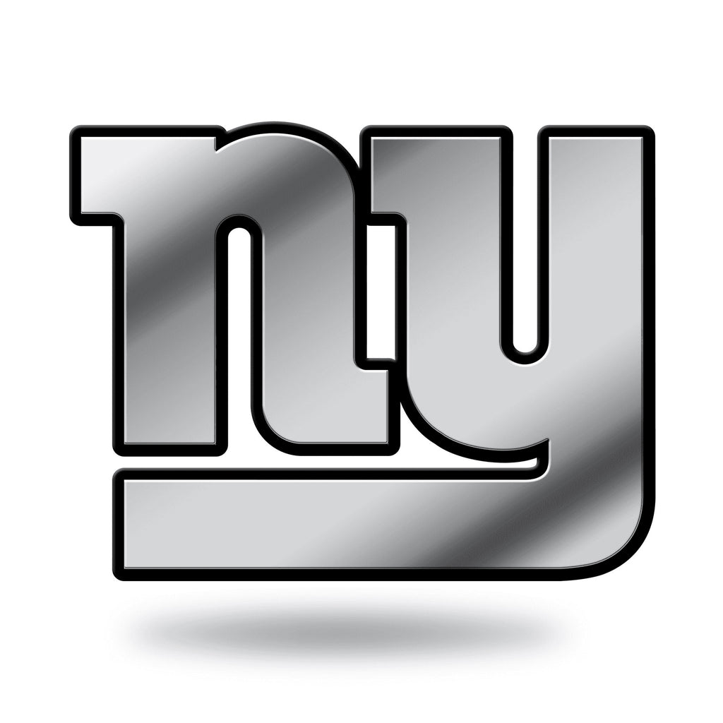 New York Giants Car 3D Chrome Auto Emblem RICO