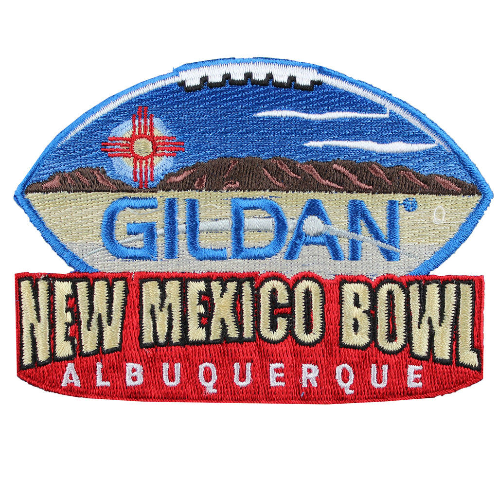 Gildan New Mexico Bowl Game Patch in Albuquerque UTSA Vs New Mexico 2016