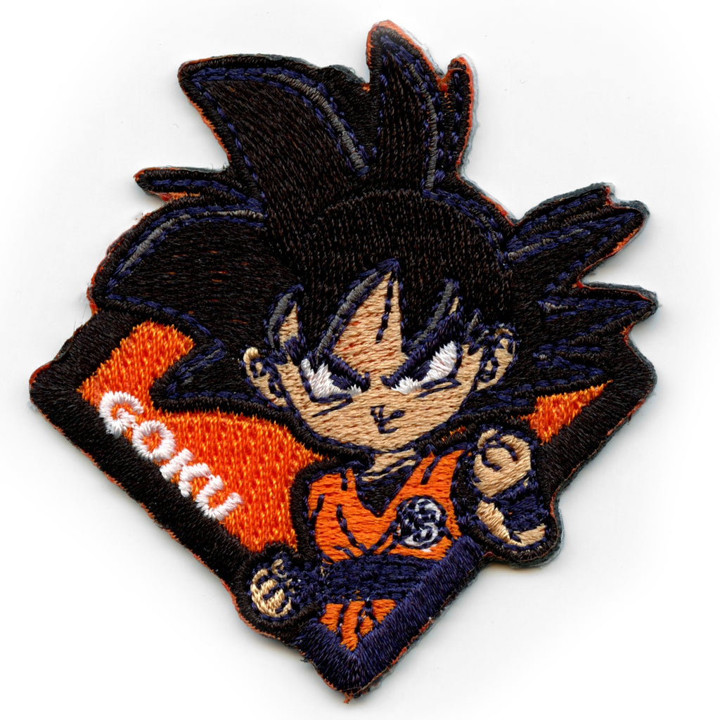 Dragonball Z Name Logo Embroidered Iron on Patch
