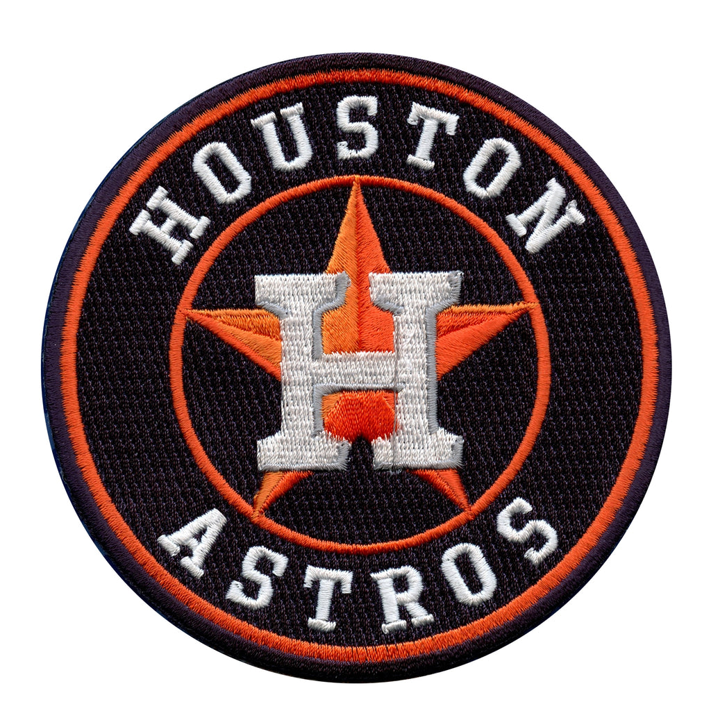 Houston Astros Team Logo Alternate Jersey Sleeve Patch (Blue)