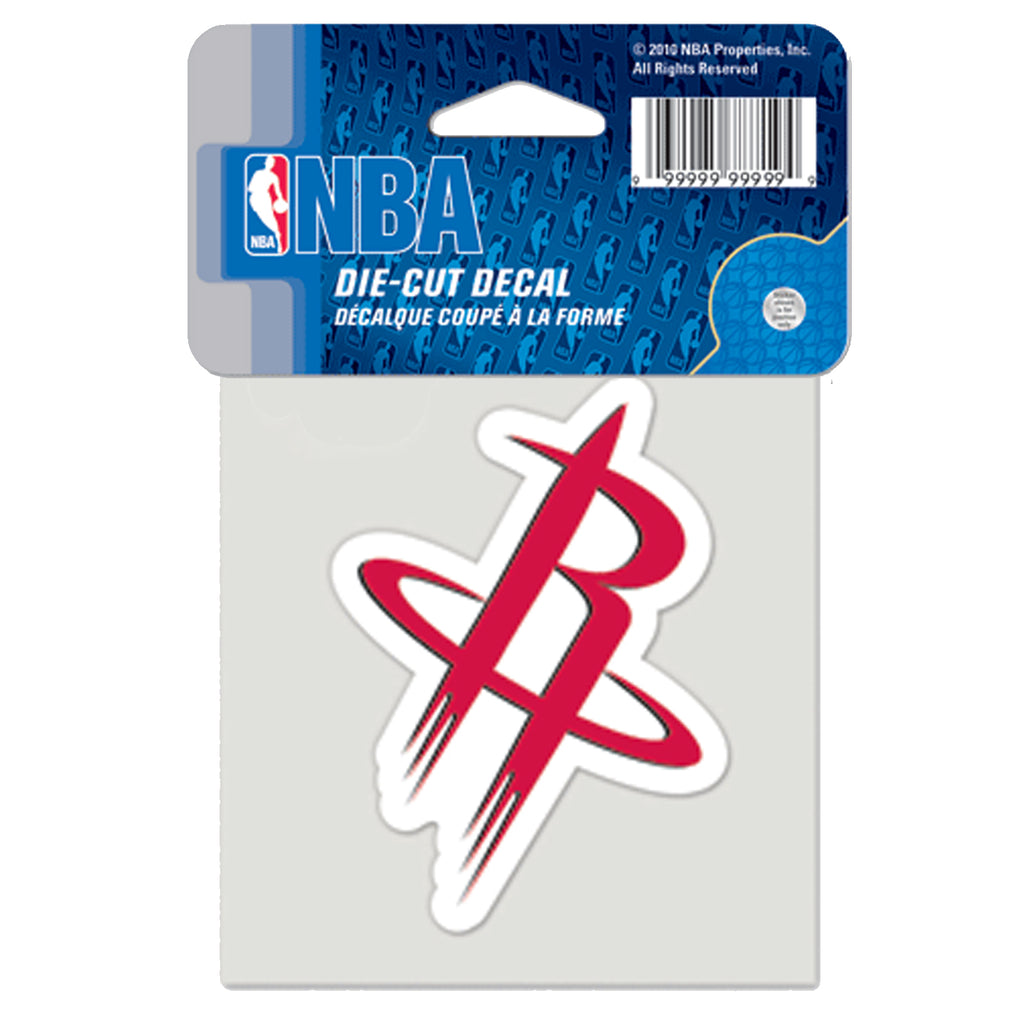 "Houston Rockets Alternate Logo Die Cut Decal 4"" x 4"" (Colored)"