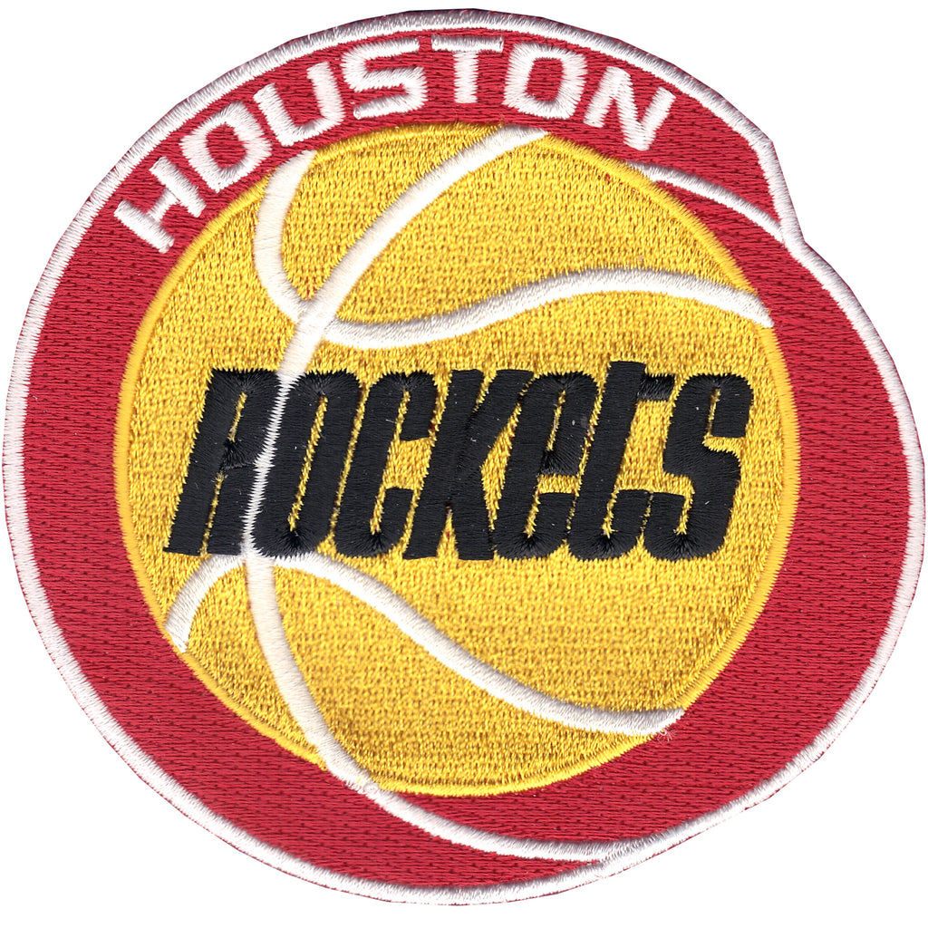 Houston Rockets Throwback Era Logo Patch