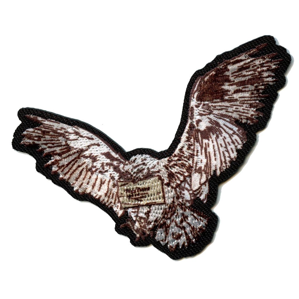 Harry Potter Messenger Brown Owl Iron On Patch