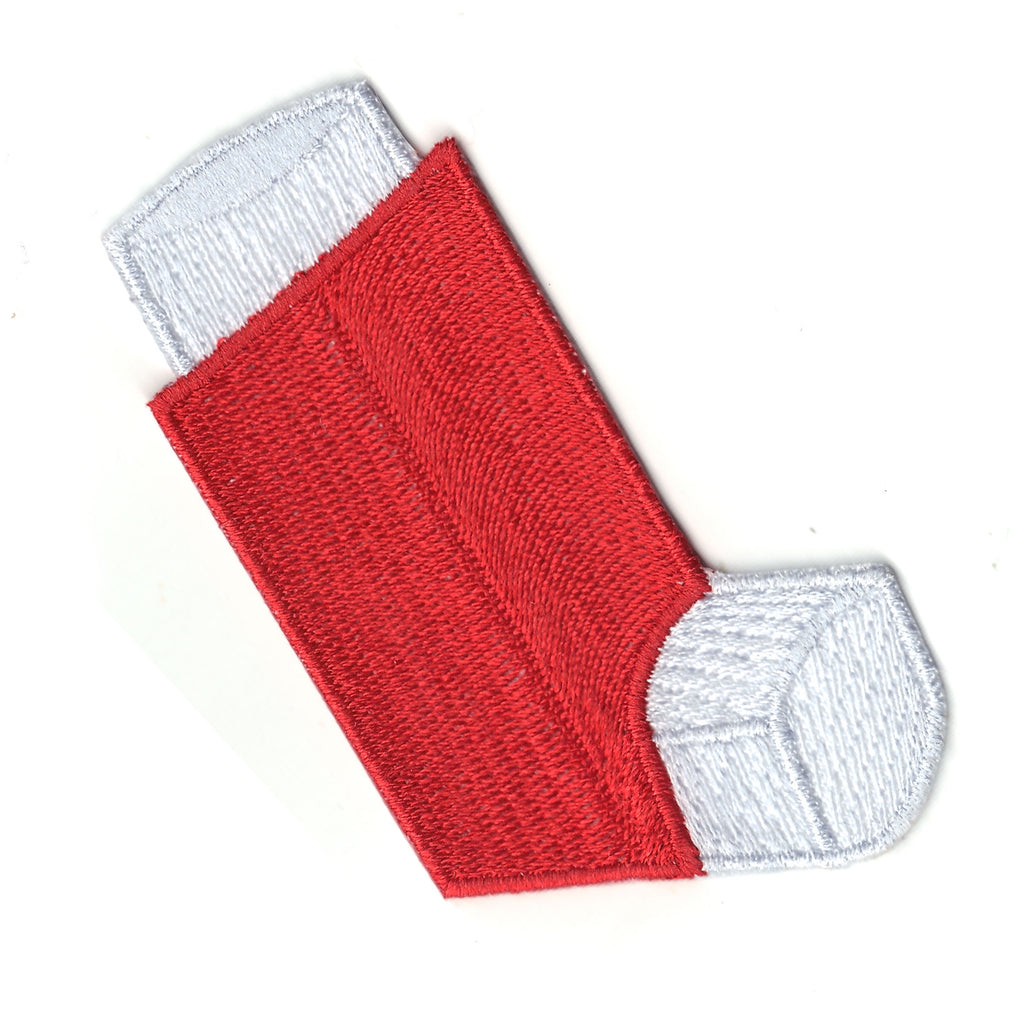 Red Inhaler Emoji Iron On Patch
