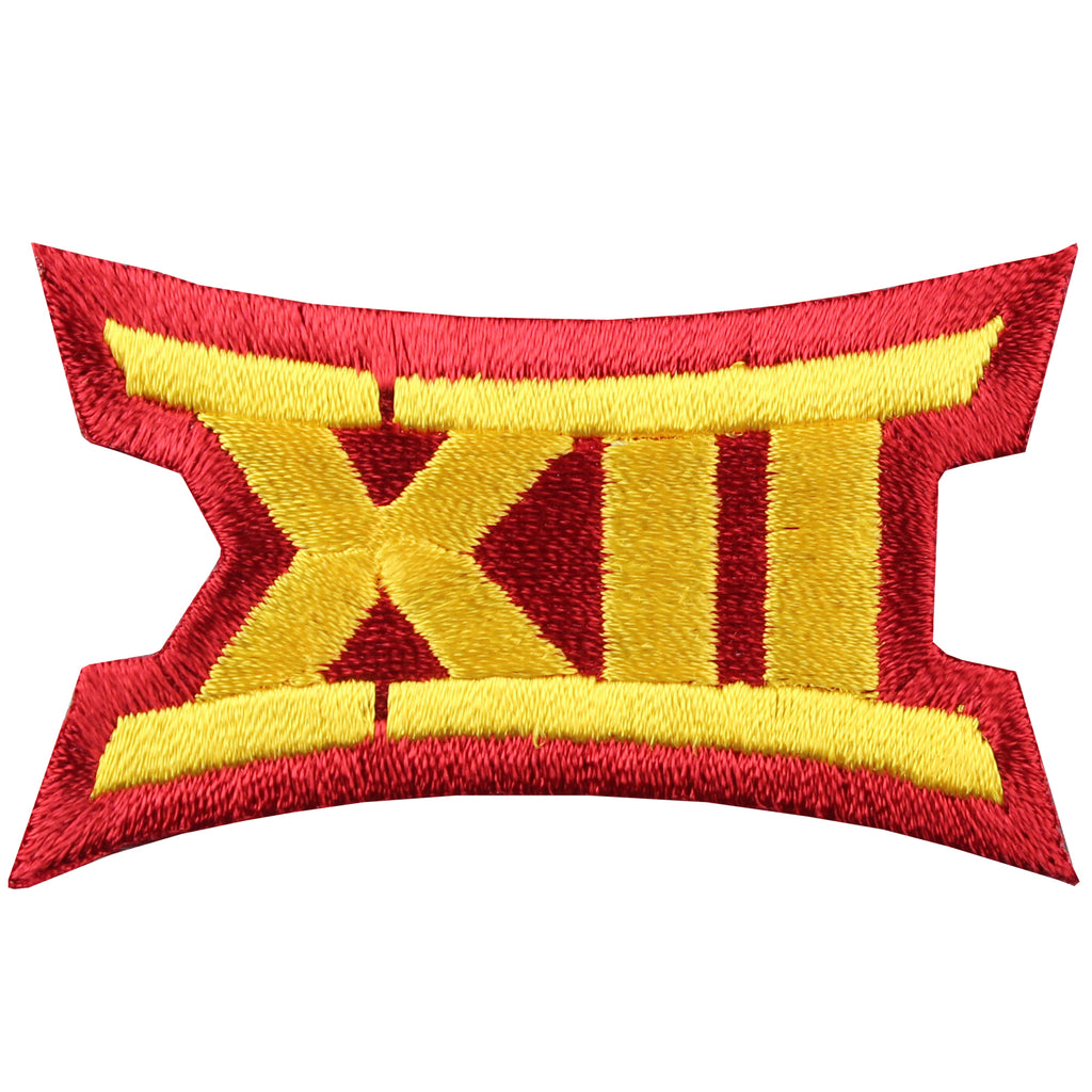 Big 12 XII Conference Team Jersey Uniform Patch Iowa State Cyclones