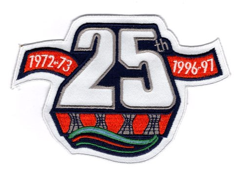 1996-97 New York Islanders 25th Anniversary Patch