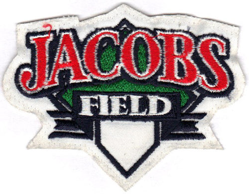 Jacobs Field Logo Cleveland Indians Patch
