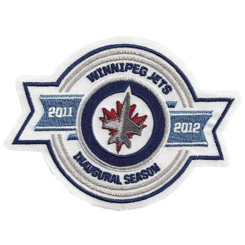 Winnipeg Jets Inaugural Season Logo Patch (2011-2012)
