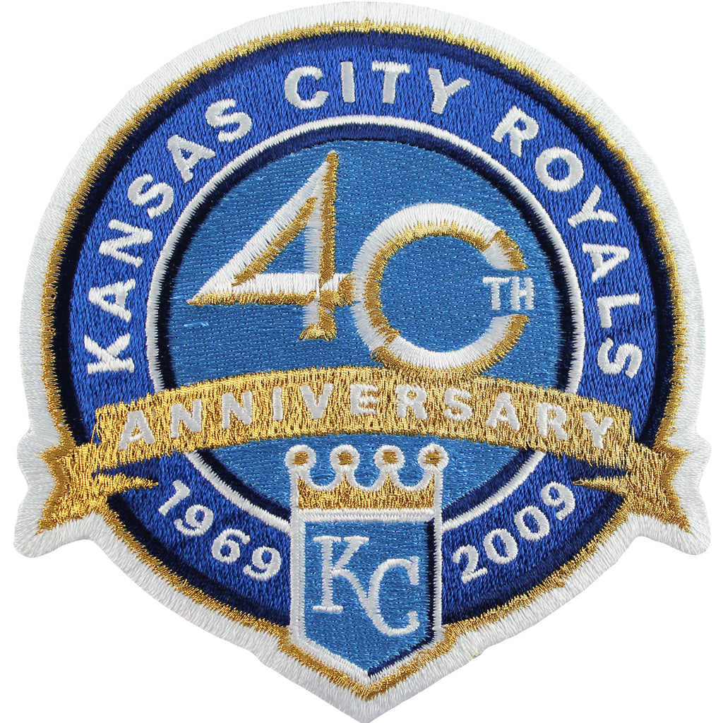 2009 Kansas City Royals 40th Anniversary Patch