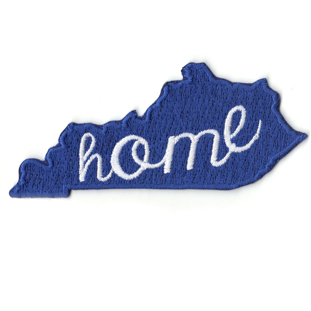 Kentucky Home State Iron On Patch