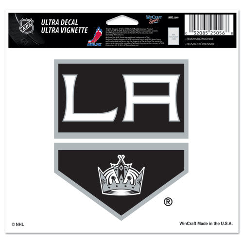 "Los Angeles Kings Primary Team Logo Ultra Decal 5"" x 6"""