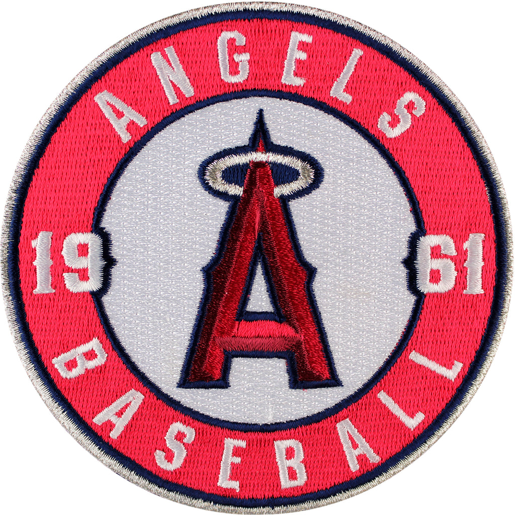 Los Angeles Angels of Anaheim Round Sleeve '1961' Patch (2012)
